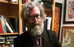 Prof. Alfred Kentigern Siewers, director of the Literary Studies Program