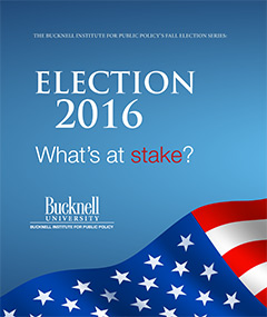 This fall, the insitute is offering a lecture and discussion series about the 2016 election.