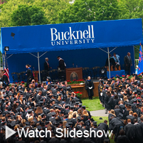 Click to launch Bucknell's Commencement 2010 slideshow
