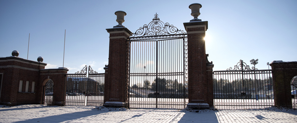 Bucknell University in Winter