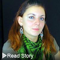 Click to read Elena Augustine's alumni story