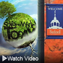 Click to see a video about recycling at Bucknell