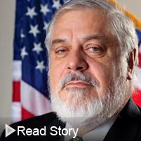 Click to read Rafael Moure-Eraso's alumni story