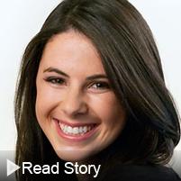 Click to read Amanda Sidman's alumni story